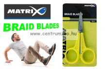 FOX MATRIX Braid Blades Scissors Premium olló - fonott zsinórokhoz is (GAC409)