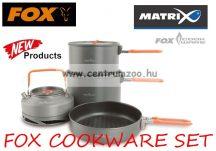 FOX COOKWARE SET - 3PC MEDIUM SET - 3 részes edény szett (CCW001)