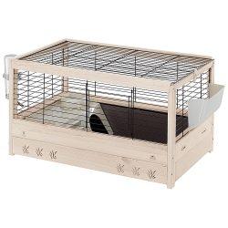 Ferplast Arena  80 fa-műanyag-fém tengerimalac és nyúl ketrec