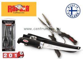 Rapala 3in1 fogó+csípőfogó+késtok szett 22cm RPLR8-706