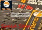 """Guru Speed Stop 4"""" előkötött horog gyors csalitüskével 12-es méret 0,22mm 8db (GRR002)"""