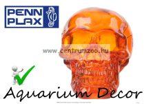 PENN PLAX Kristály koponya narancssárga 7x4,6x5cm dekoráció (099015)
