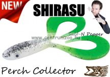 Balzer Shirasu Perch Collector  gumihal  7cm 4g (0013675507) Salt-N Pepper