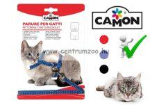 """Camon Parure """"Gattini""""   cicahám + póráz több színben (D631/C)"""