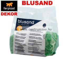 Ferplast Blusand Green kavics akvárium dekor - ZÖLD 500g