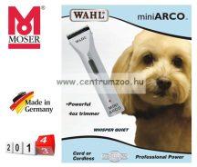 Moser Arco MINI Premium AKKUS kutya, kisállat nyírógép (1565-0473) + AJÁNDÉK