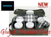 SHIMANO Glug & Hookbait Case 27x13x11cm dipes táska (SHOL17)(SHTR17)