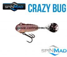 SpinMad Blade Baits gyilkos wobbler CRAZY BUG 4g  2411