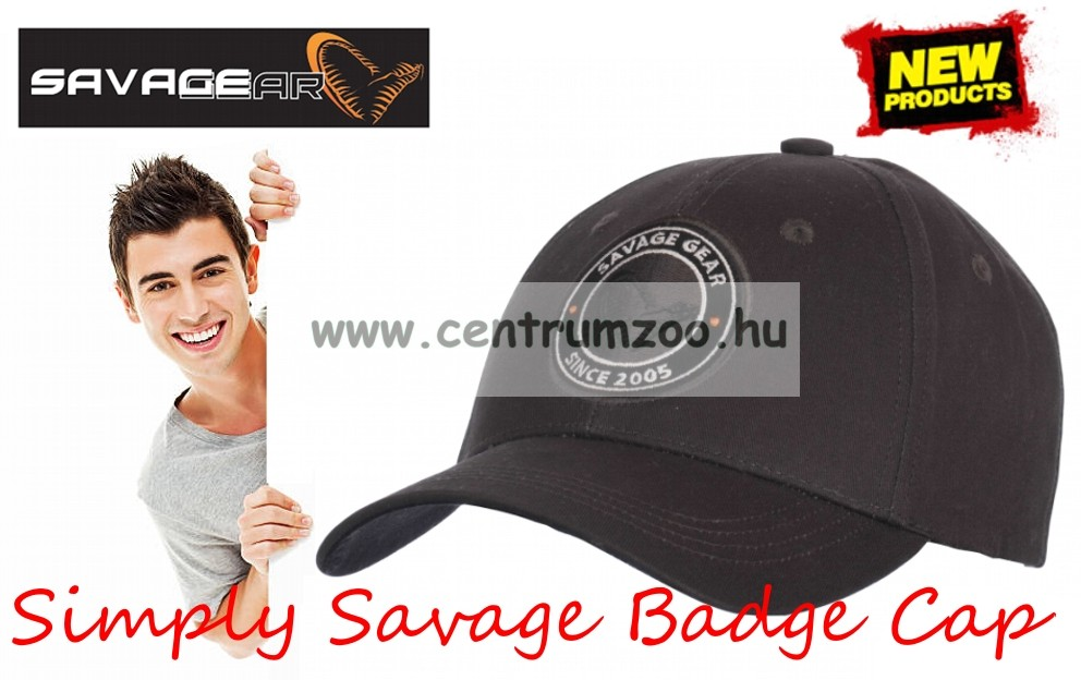 a352a884d sapka - Savage Gear Simply Savage Badge Cap baseball sapka (57052 ...