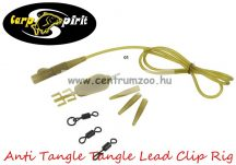 Carp Spirit Anti Tangle Lead Clip Rig Camo szett - 3db szett (ACS010226)