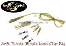Carp Spirit Anti Tangle Lead Clip Rig Camo szett - 3db szett (ACS010226)