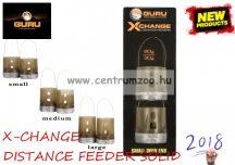 GURU X-CHANGE DISTANCE FEEDER Solid Medium feeder kosár 40-50g (GAD10)