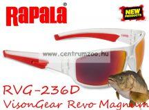 Rapala RVG-236D Revo Magnum Series szemüveg - Polarized Red Mirror