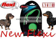 Flexi New Comfort M Cord zsinóros póráz 8m 20kg - ZÖLD (11747)