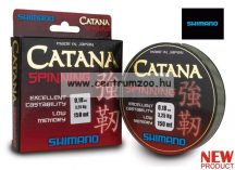 Shimano zsinór CATANA Spinning 150m 0,225mm grey 5,40kg monofil pergető zsinór