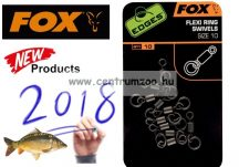 FOX EDGES™ Flexi Ring Swivel size 7 karikás forgókapocs 10db (CAC528)