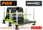 Fox Matrix® S36 Superbox Lime Edition versenyláda  (GMB115) + (GMB118)