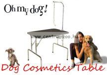 Professional Dog Cosmetics Blue Tabs kozmetikai, kiállítási asztal