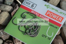 KORUM horog XPERT POWER  Micro Barbed  hooks (KHXPB)