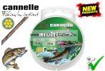 CANNELLE MULTIFLEX 7 szálas köthető harapásálló előkezsinór  7kg 10m (724-10)