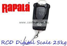Rapala RCD Digital Scale 25kg prémium mérleg 25kg-os - RCDDS25