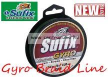 Sufix Gyro Braid NEW fonott zsinór 0.21mm/11,9kg deep green 135m