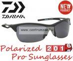 Daiwa Polarized Sunglasses black frame grey lens modell DPROPSG3 -szürke lencse (202724)
