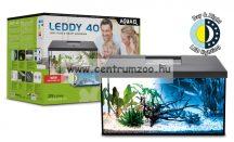 AquaEl Leddy 40 akvárium szett 25liter Fekete EGYENES felszerelt akvárium szett