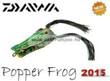 Daiwa D-Frog Popper 6,5cm béka műcsali - green -T (15602-108)
