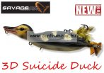 Savage Gear 3D Suicide Duck mű kiskacsa csukára, harcsára 15cm 70g (Natural color)(53733)