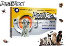 Pestigon spot on ampulla  kullancs és bolha elleni csepp kutyáknak 2-10kg