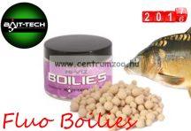 Bait-Tech Fluo Boilies fehér 8/10mm KAGYLÓ ízben (2501244)