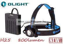 fejlámpa  Olight H25 Wave tölthető fejlámpa 800 lumen 212m (OLIH25)