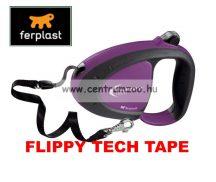 Ferplast Flippy Tech Deluxe Tape Large Purple szalagos póráz - LILA