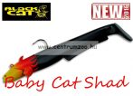 Black Cat Baby Cat Shad flamed black cat 75g 18cm 2db (3295305)