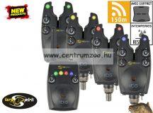 CARP SPIRIT HD5 Elektromos rádiós kapásjelző szett 4+1 SZETT (ACS490013)