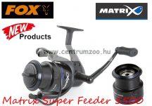 FOX Matrix Super Feeder 5500 inc spare Spool feeder orsó (GRL008)