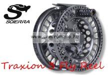 Scierra TRAXION 3 FLY REEL #5/7 GunSmoke prémium legyező orsó (50899)