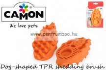 Camon Dog-shaped TPR shedding brush szőrzetápoló kefe (B857/A)