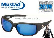 Mustad HP Polarized Sunglasses - Black Vented Frame, Smoke lens With Black napszemüveg (HP102A-1)