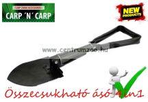 Carp Zoom Összecsukható ásó, kapa, lapát, fűrész,  4in1 túrázáshoz, tábor építéshez (CZ2348)