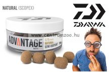 Daiwa Advantage Baits Semi Buoyant 6/8mm 30g  Hookbait Natural Scopex (13300-102)