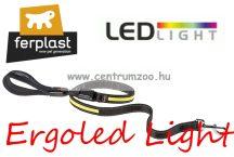 Ferplast ERGOLED Light G25/125 Yellow világító póráz kiskutya-cica (75189728) sárga