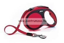 Flexi New Comfort L Tape szalagos póráz 5m 60kg  - RÓZSASZÍN (11765)