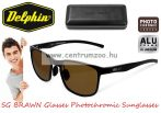 Delphin SG BRAWN Glasses Polarised Photochromic Sunglasses  - Fotokromatikus polar napszemüveg barna lencsével (920121280)