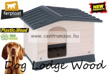 Ferplast Dog Lodge 110 Wood Outdoor fa kutyaház (87249099)