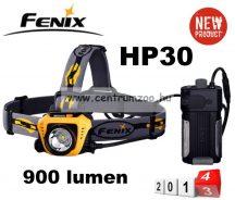 fejlámpa  FENIX HP30 LED FEJLÁMPA (900 LUMEN) vízálló 233m fényerő