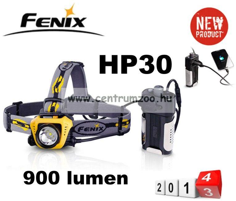 FENIX HP30 LED FEJLÁMPA (900 LUMEN) vízálló 233m fényerő ...