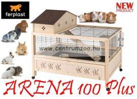 Ferplast Arena 100 PLUS fa-műanyag-fém tengerimalac és nyúl BIRODALOM - AKCIÓ
