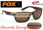 FOX Chunk Camo Sunglasses  Camo Brown Frame - Brown Lense polar napszemüveg (CSN042)